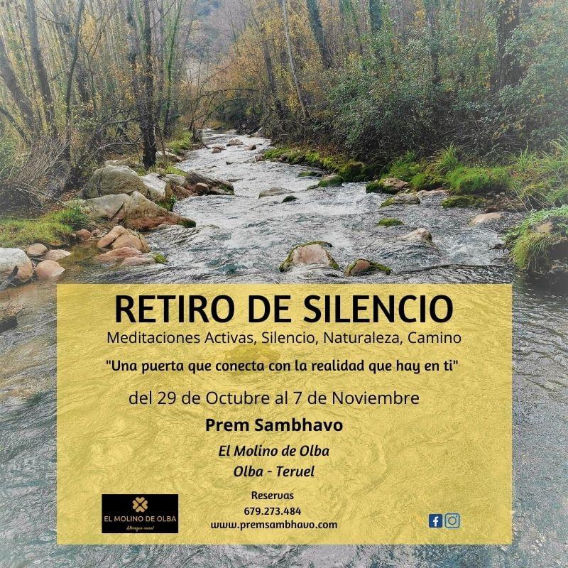 Retiro de silencio